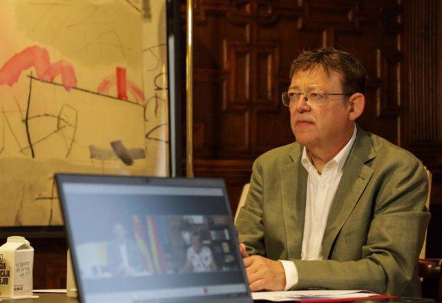 El 'president' de la Generalitat Valenciana. Ximo Puig.