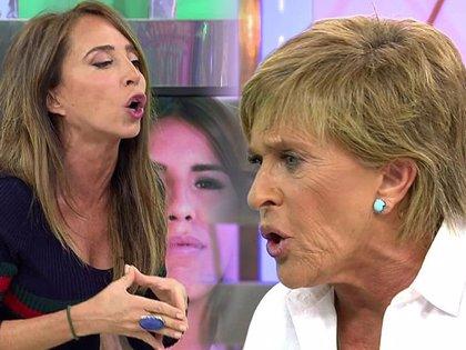 Chelo García Cortés le quita el puesto de presentadora a María Patiño