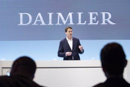 El beneficio de Daimler se desploma un 85% en los nueve primeros meses del año por la pandemia