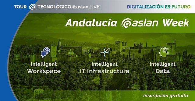 El tour 'ASLAN Live!' llega a Andalucía poniendo el foco en la tecnología para r
