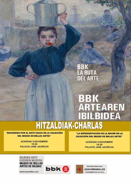 """La exposición itinerante """"La Ruta del Arte BBK Artearen Ibilbidea"""" llegará a Ugao-Miraballes el 4 de noviembre"""
