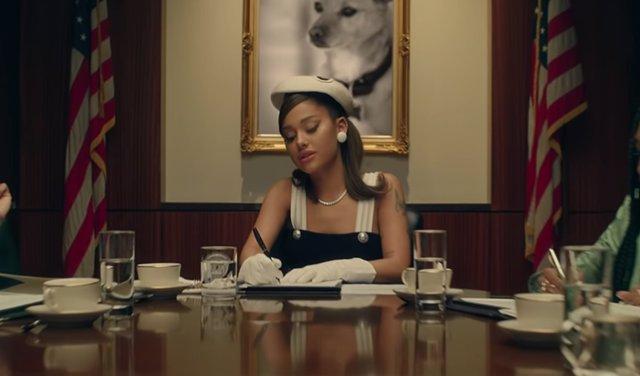 Ariana Grande asalta la Casa Blanca en POSITIONS, su nuevo single y videoclip
