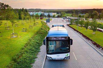 Solaris, del Grupo CAF, probará en las próximas semanas en París su autobús de hidrógeno
