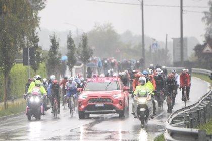 El Giro modifica el inicio de la 19ª etapa por mal tiempo