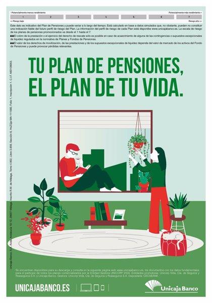 Unicaja Banco lanza una campaña de planes de pensiones con diversas bonificaciones