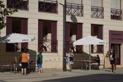 Navarra tiene 111 casos activos en centros residenciales de mayores, un tercio menos que hace una semana