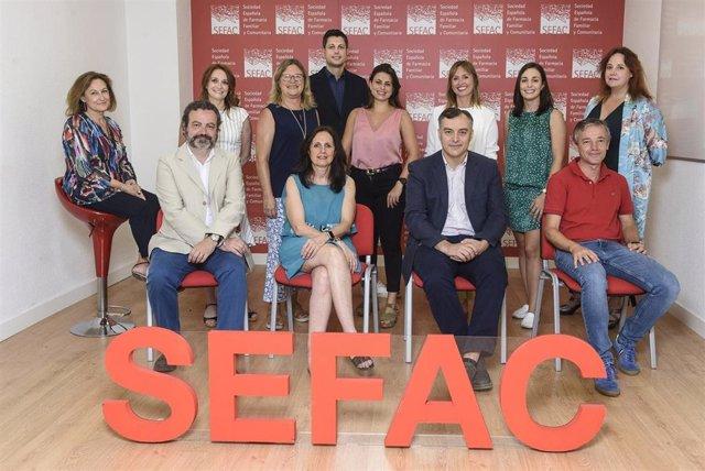 Junta directiva de SEFAC.