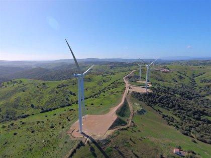 Los parques eólicos de Naturgy en Andalucía producen 130,5 gigavatios horas, que equivale a consumo de 51.410 hogares