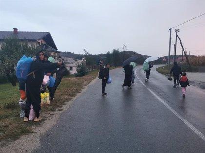 No Name Kitchen alerta de que más de 4.000 migrantes están viviendo a la intemperie en Bosnia