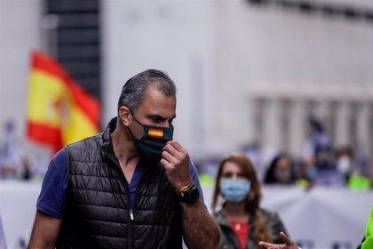"""Ortega Smith sostiene que no dejarán de apoyar los gobiernos de Madrid para que """"no entre la extrema izquierda"""""""