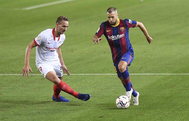 Fútbol.- Jordi Alba recibe el alta y estará en un Clásico sin Ter Stegen