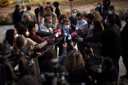 """Almeida insta a Vox a """"hacer autocrítica"""" y a no """"dejarse llevar por la frustración"""" tras fracasar la moción de censura"""