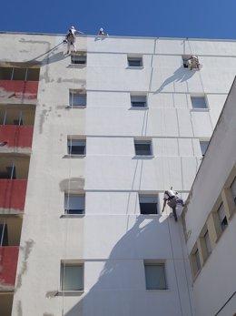 Pintado hospital de Jerez