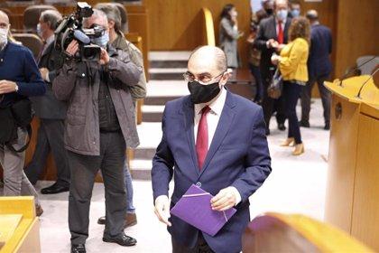 """La pandemia muestra """"el acierto absoluto"""" que supone el Estado autonómico, señala Lambán"""