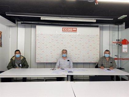CCOO denuncia el ERTE de la empresa contratista para mantenimiento en el Ayuntamiento de Torrelavega