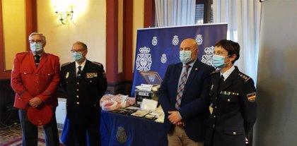 Las detenciones por tráfico de drogas aumentaron en Navarra un 24,72% en 2019