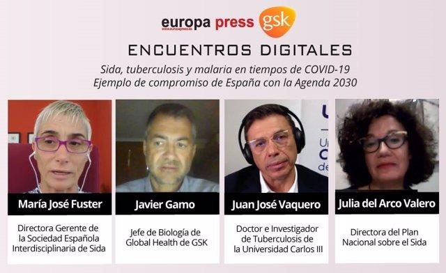 Encuentro Digital Sida, Tuberculosis y Malaria en tiempos de COVID-19, organizado por Europa Press en colaboración con GSK