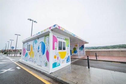 La Fundación Aladina instala el primer autocovid pediátrico de España en el HUCA