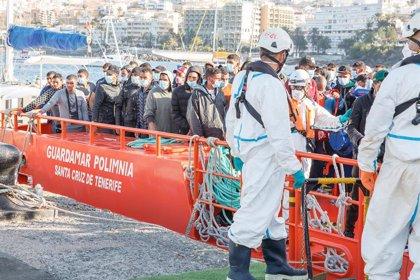 Unos 1.400 migrantes han llegado a Canarias desde el lunes