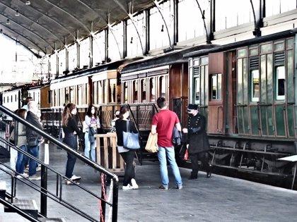 El Museo del Ferrocarril de Madrid celebra este sábado el Día del Tren