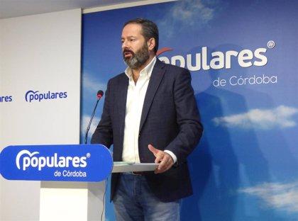"""Molina (PP) destaca que """"la única alternativa a Sánchez y sus socios es Pablo Casado"""" tras la moción de censura"""