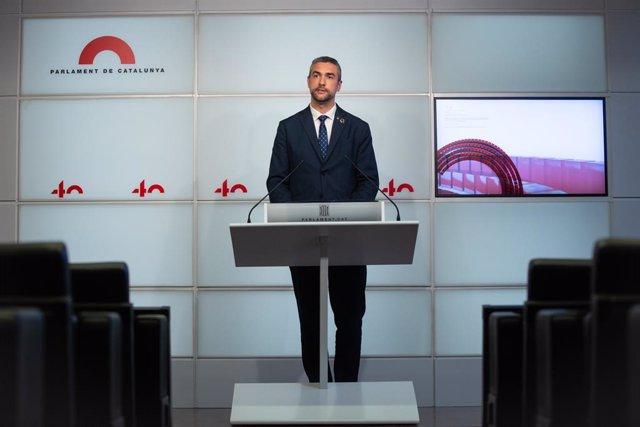 El conseller d'Acció Exterior de la Generalitat, Bernat Solé.