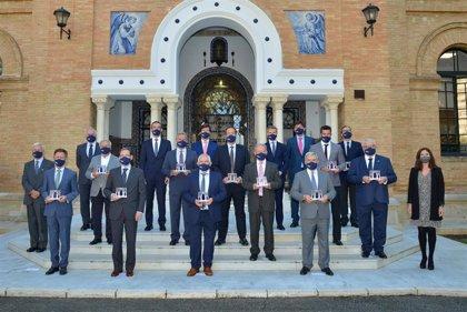 Nueve empresas andaluzas reciben el premio de la Cátedra BBVA de Empresa Familiar de San Telmo Business School