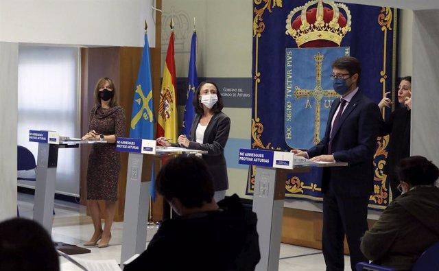 Rueda de prensa tras el Consejo de Gobierno
