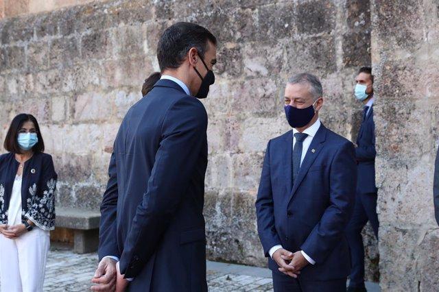 Urkullu comunica a Sánchez que demanarà l'estat d'alarma al País Basc, que gestionarà el mateix lehendakari