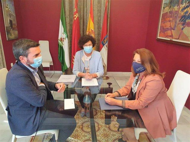 Reunión de los consejeros de Agricultura de la Región de Murcia y la Junta de Andalucía