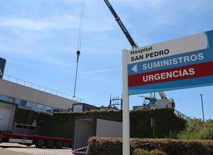 Herido un hombre tras sufrir un atropello en la Avenida de la Paz de Logroño
