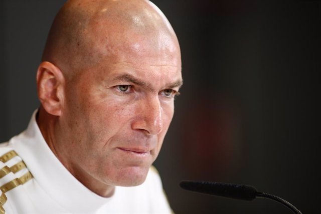 L'entrenador del Reial Madrid, Zinedine Zidane