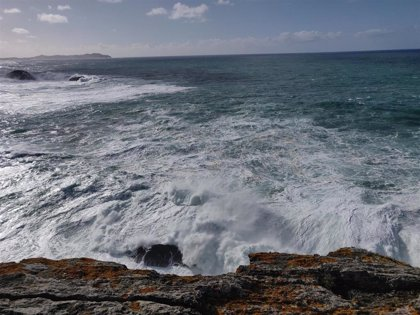 Activada la alerta naranja por temporal este sábado en la costa de la provincia de A Coruña