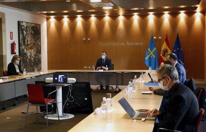 El Principado solicita el estado de alarma y decreta el cierre de Oviedo, Gijón y Avilés