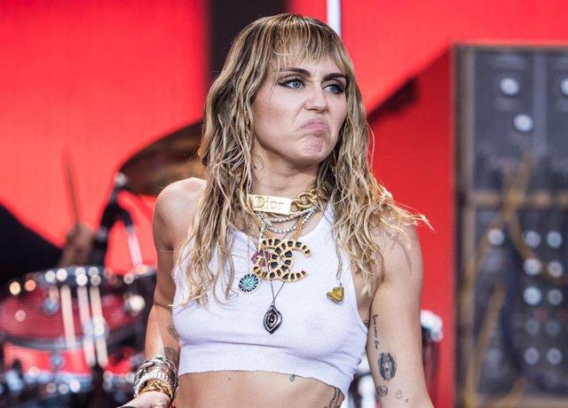 Miley Cyrus en Glastonbury Festival 2019
