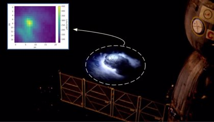 Confirmada desde Granada la existencia del fenómeno de los destellos azules producidos por descargas eléctricas frías