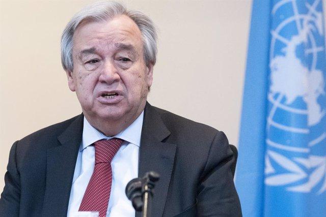 """Libia.- Guterres dice que el alto el fuego en Libia es """"un paso fundamental haci"""