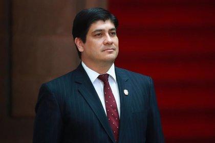 """Alvarado advierte de que si el diálogo fracasa Costa Rica quedaría """"condenada a mucho dolor"""""""
