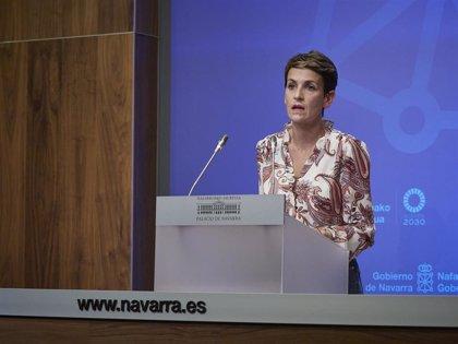 Chivite defiende la utilidad del estado de alarma y pide gestionarlo si se aplica en Navarra
