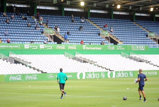 Fútbol.- El Sardinero podrá acoger 4.444 espectadores en el partido Racing-Alavé