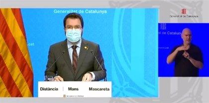 """Aragonès dice que pedirán el estado de alarma con """"mando único"""" de la Generalitat"""