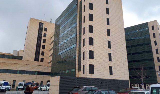 Exterior del hospital Campus de la Salud de Granada