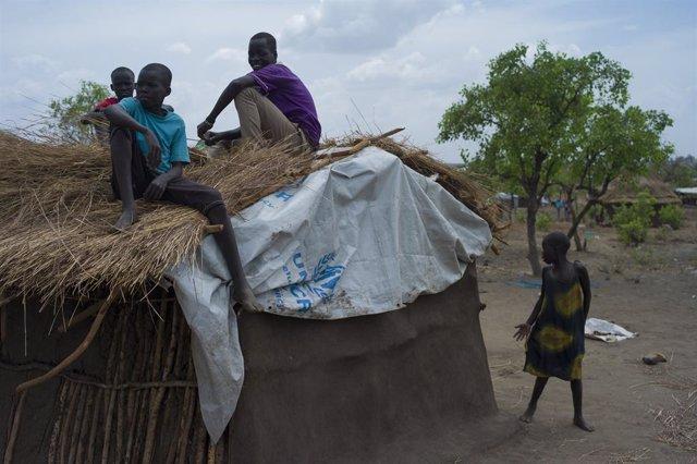 """Sudán del Sur.- La ONU dice que """"amplias zonas"""" de Sudán del Sur están """"sumergid"""