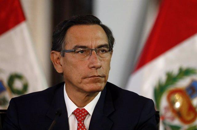 AMP.- Perú.- El primer ministro de Perú cuestiona la nueva moción de censura con