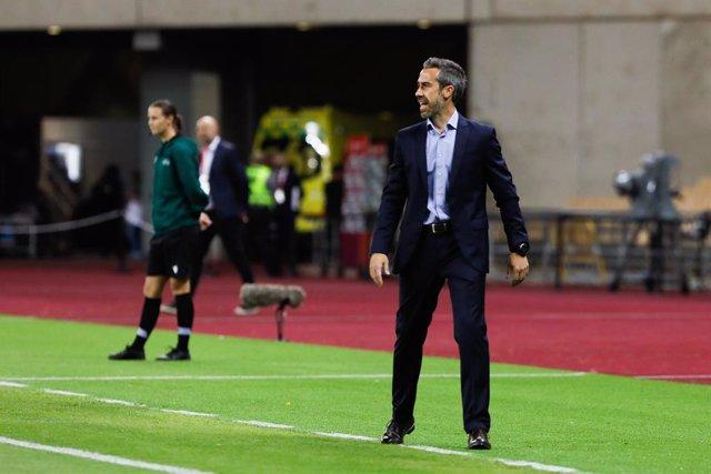 """Fútbol/Selección.- Jorge Vilda: """"Estoy contento con el rendimiento y la clasific"""