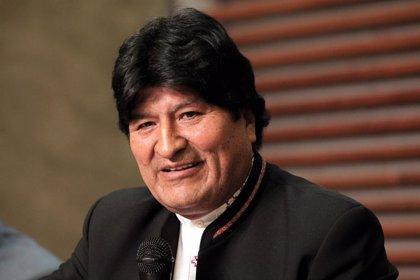 El expresidente boliviano Evo Morales vuela a Venezuela