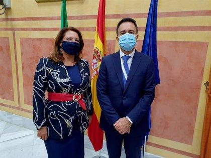 """Crespo se reúne con el comisionado para el Cambio Climático para abordar """"un objetivo vital en una tierra seca"""""""