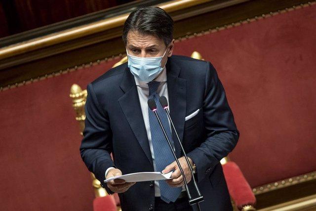 El primer ministre d'Itàlia, Giuseppe Conte