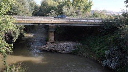 Cs Épila pide al equipo de gobierno que promueva la limpieza del cauce del río Jalón a su paso por el puente viejo