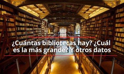 Día de las Bibliotecas en plan: cuántas bibliotecas hay en todo el mundo, cuál es la más grande y otras curiosidades